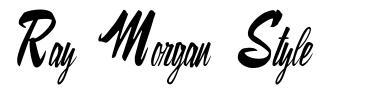 Ray Morgan Style font