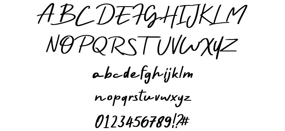 Rayleigh font
