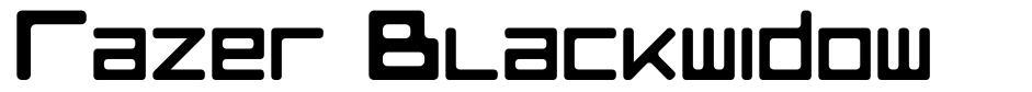Razer Blackwidow font