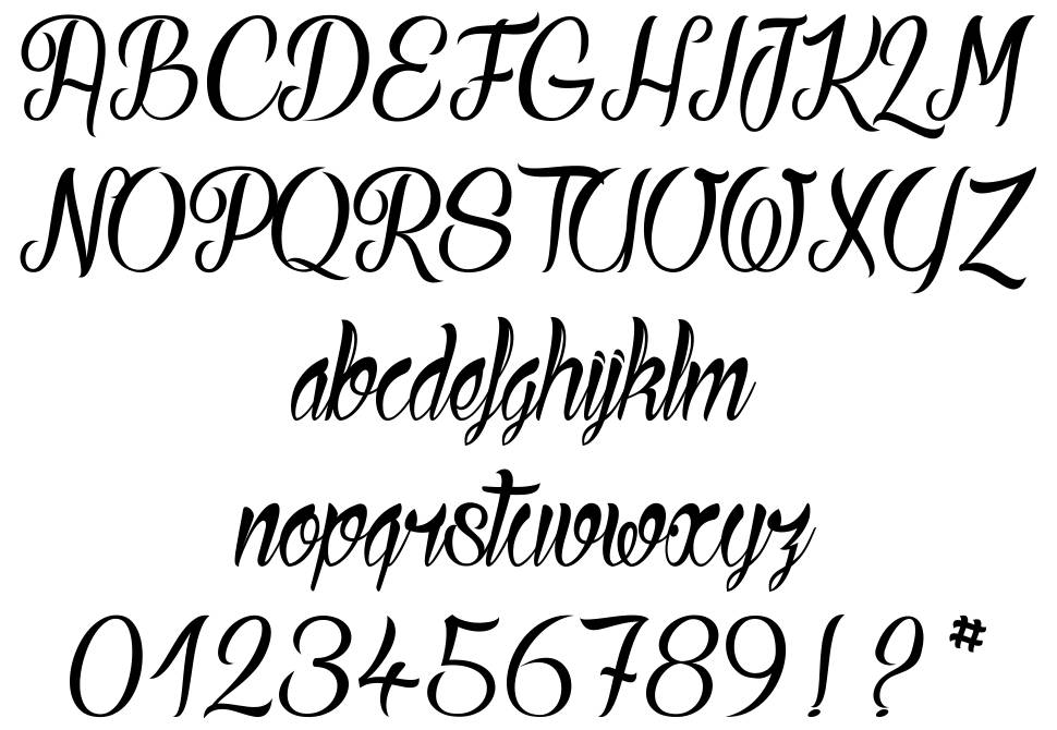 Ready to Ride font