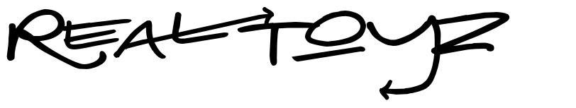 Real Toyz font