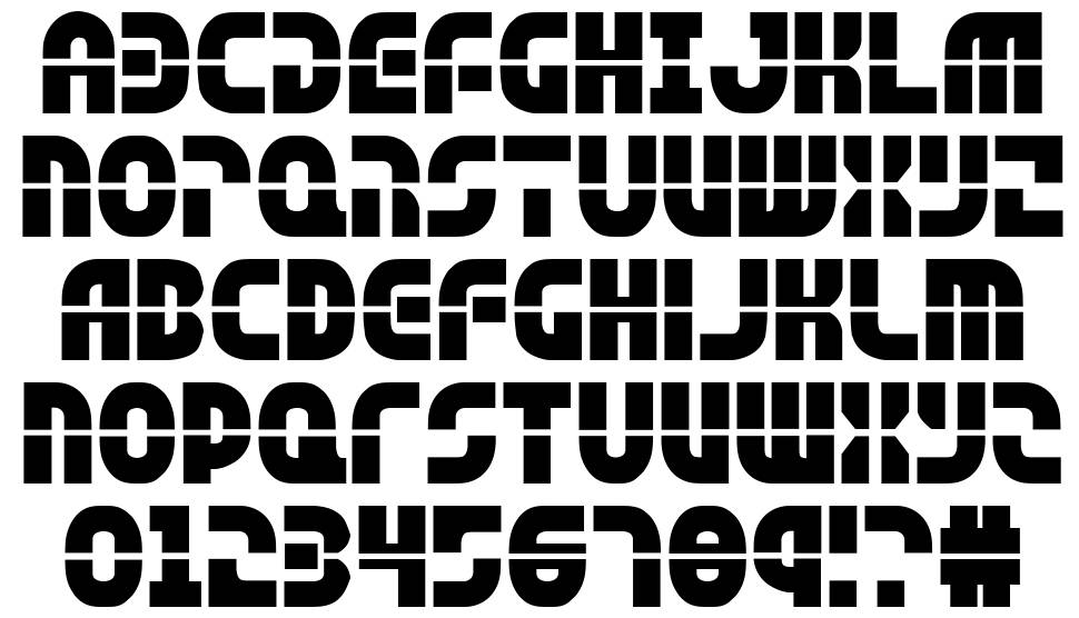 Rebel Command font