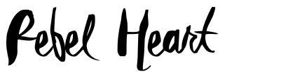 Rebel Heart font