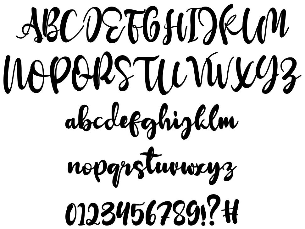 Redberry font