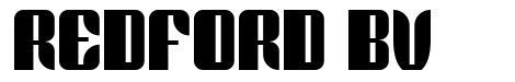 Redford BV 字形