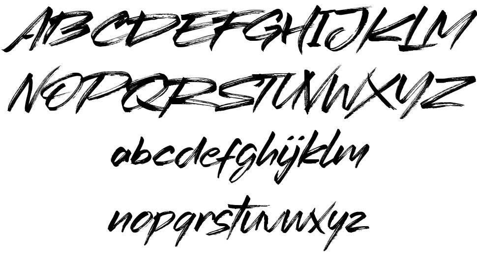 Redtowns шрифт