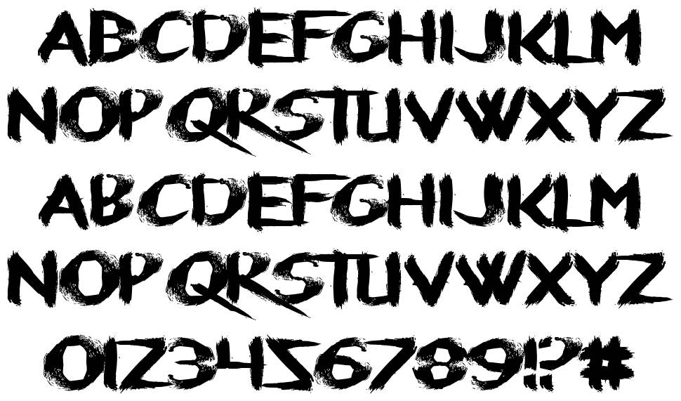 Refresher font