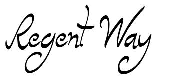 Regent Way font