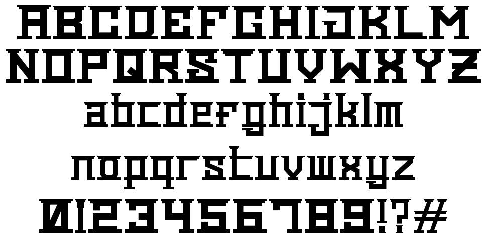Reichi Goes to Greece font