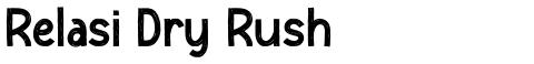 Relasi Dry Rush