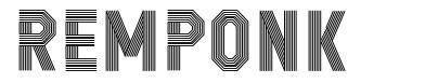 Remponk font