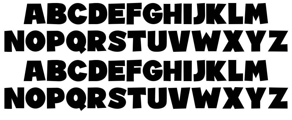 Reset font
