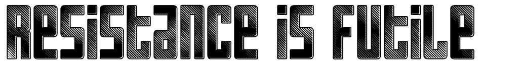 Resistance is Futile font