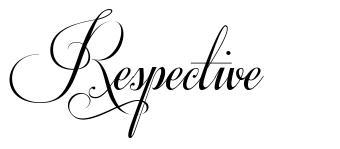 Respective
