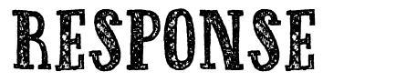 Response font