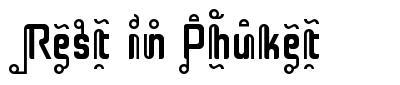 Rest in Phuket