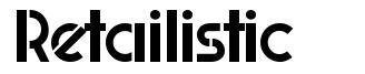 Retailistic font