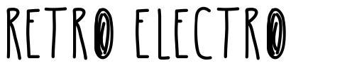 Retro Electro font