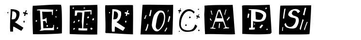 RetroCaps font
