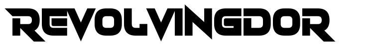 Revolvingdor font