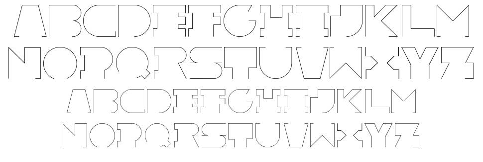 Rexic font