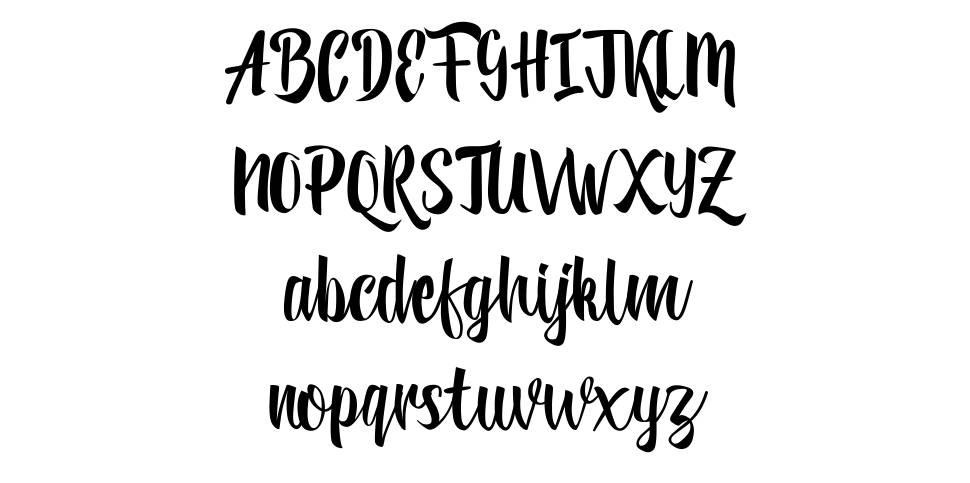 Reybro font