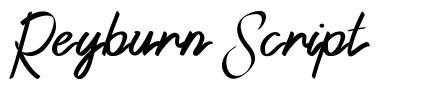Reyburn Script