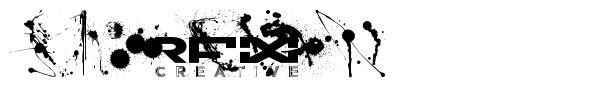 RFX Splatz font