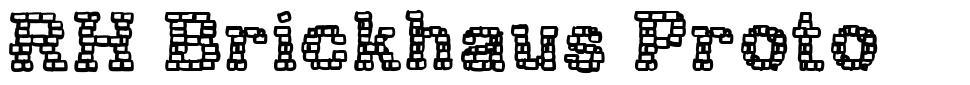 RH Brickhaus Proto font