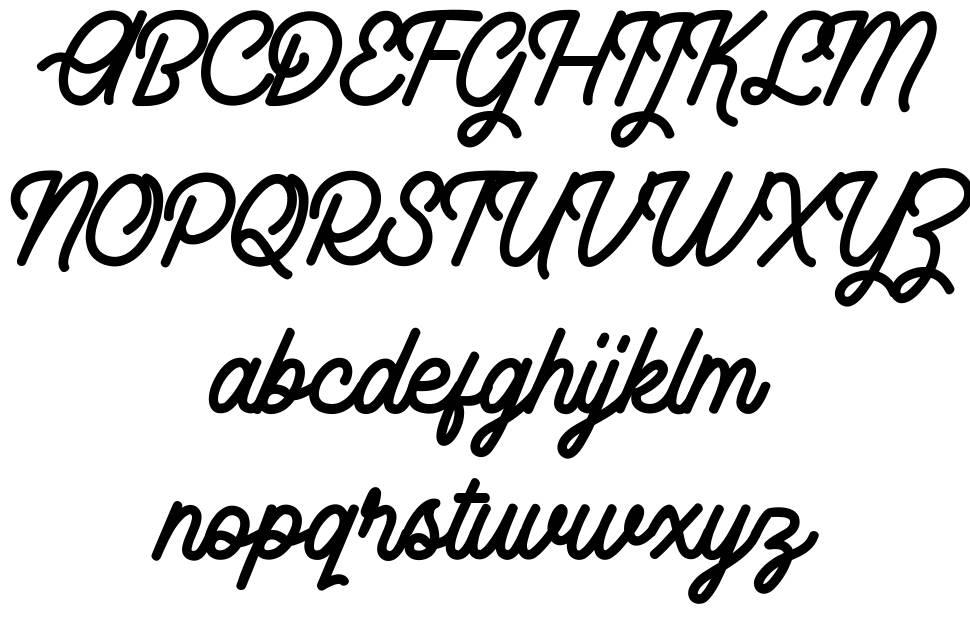 Rhaikane font