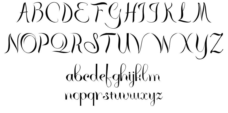 Rhannie font