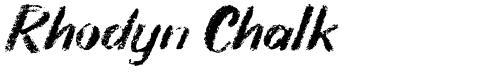 Rhodyn Chalk