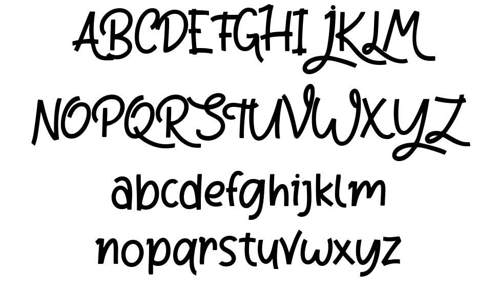 Riana Star písmo