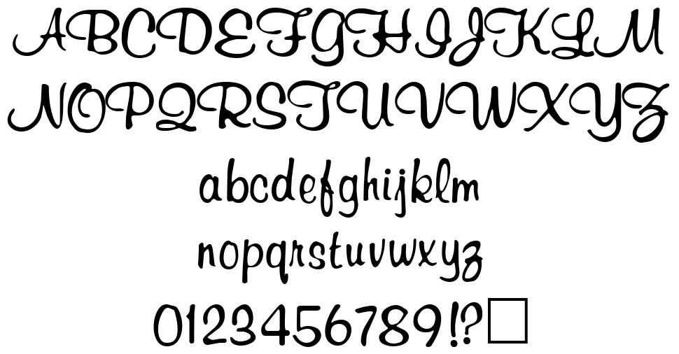 Richard Murray font