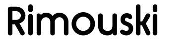 Rimouski шрифт