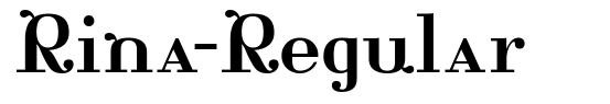 Rina-Regular font