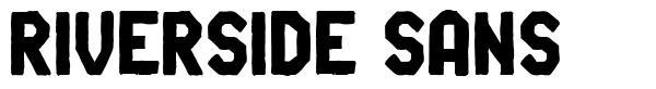 Riverside Sans font
