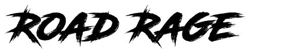 Road Rage 字形