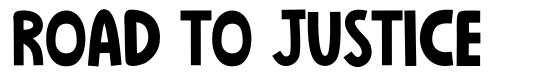 Road To Justice font