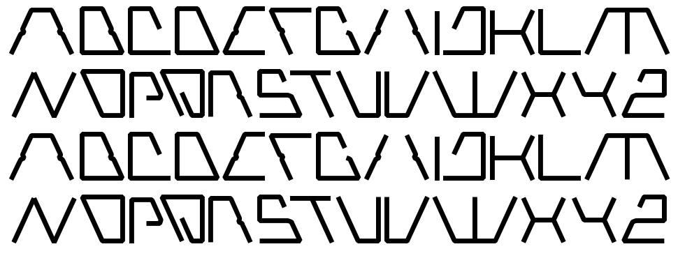 robotic fonts - Morningperson.co