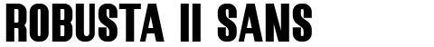 Robusta II Sans