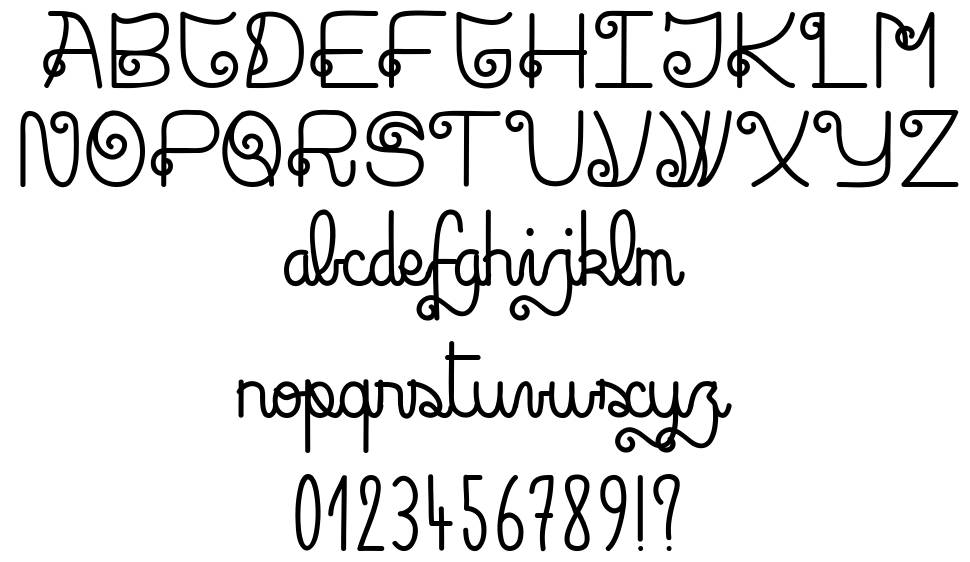Rock and Roll Street font