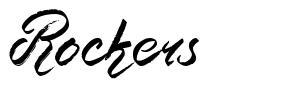 Rockers font