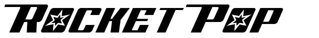 Rocket Pop font