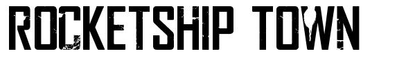 Rocketship Town font