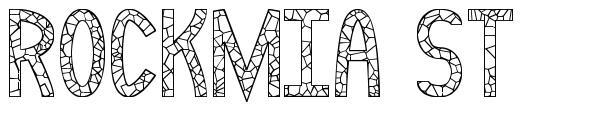 Rockmia ST font