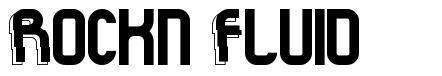 Rock'n Fluid font