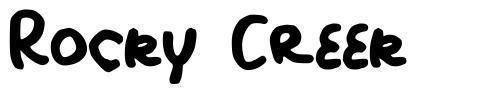 Rocky Creek font