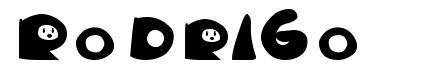 Rodrigo шрифт
