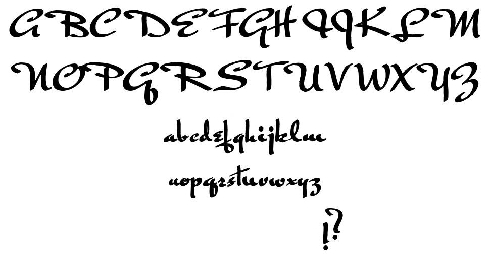 Rogeer font